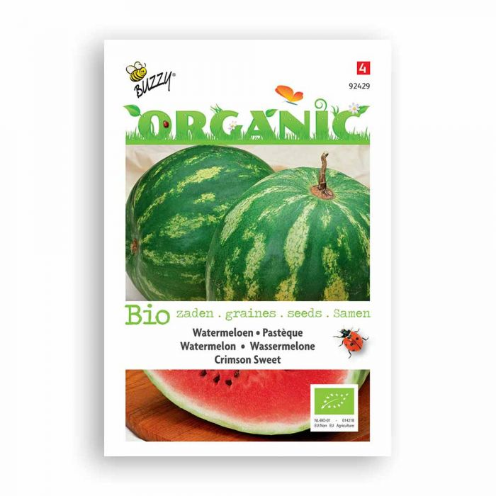 Buzzy® Organic Wassermelone Crimson Sweet