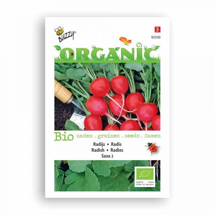 Buzzy® Organic Radieschen Saxa 2 (BIO)
