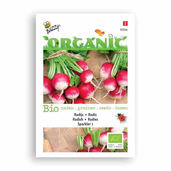 Buzzy® Organic Radieschen Sparkler 2 (BIO)
