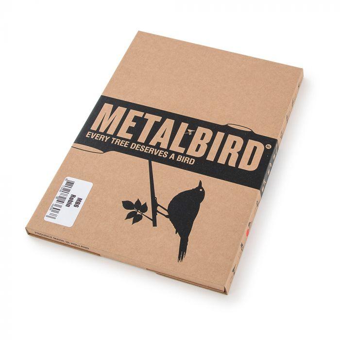 Metalbird Rotkehlchen aus Metall