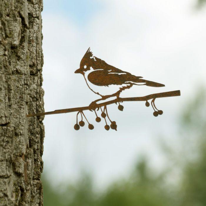 Metalbird Haubenmeise aus Metall