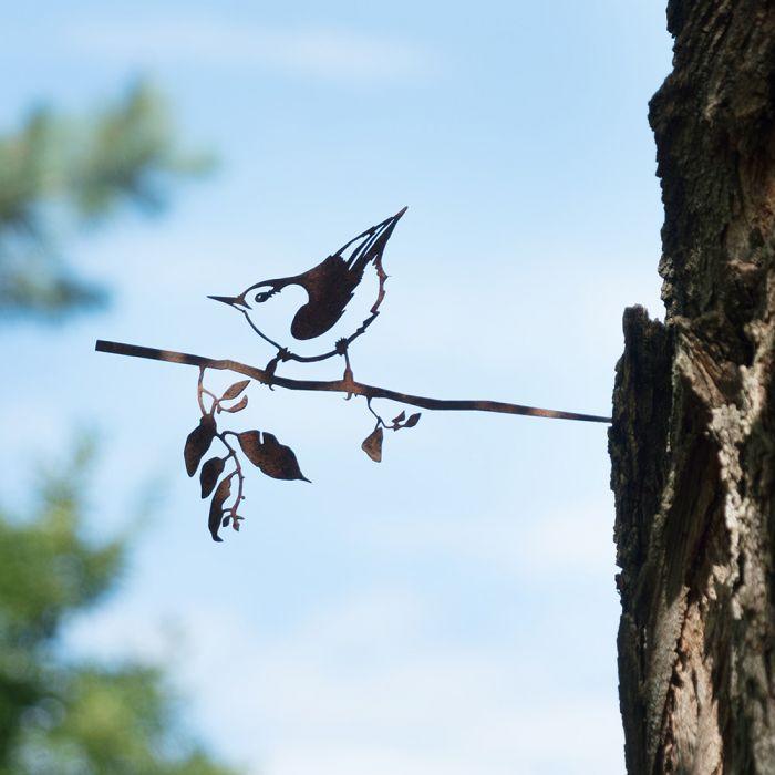 Metalbird Kleiber aus Metall