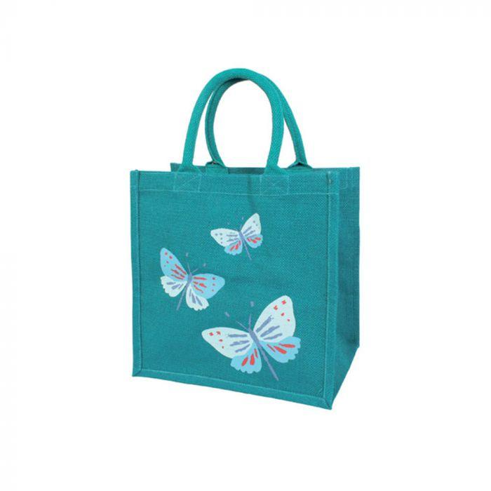 """Jute-Einkaufstasche """"Schmetterling"""""""