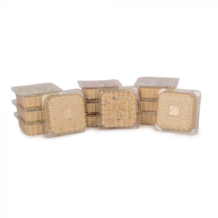 Energieblock-Paket für Gartenvögel (3 Sorten, 12 Fettblöcke)
