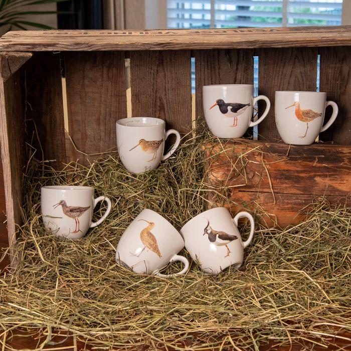 "Tassen-Set ""Wiesenvögel"" (Elwin van der Kolk)"