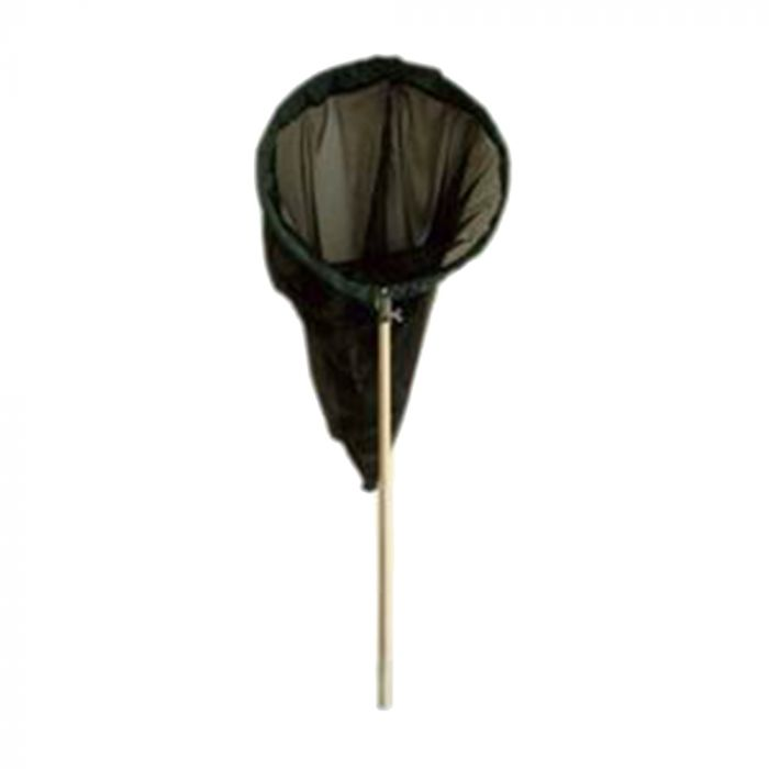 Schmetterlingsnetz schwarz 50 cm - aufklappbarer Bügel