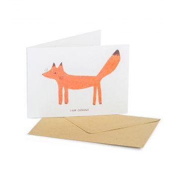 Grußkarte Fuchs – Goodness Gang