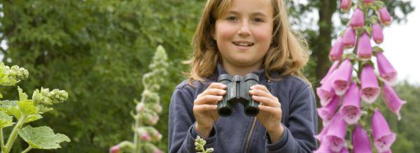 Wie kann man Kinder für die Vogelwelt begeistern?