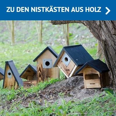 Holz-Nistkästen
