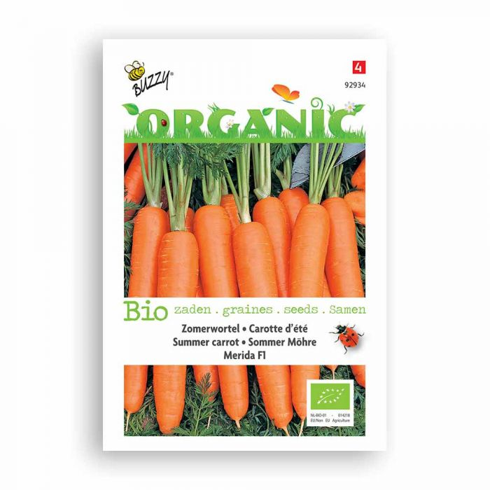 Buzzy® Organic Sommer Möhren Merida (BIO)