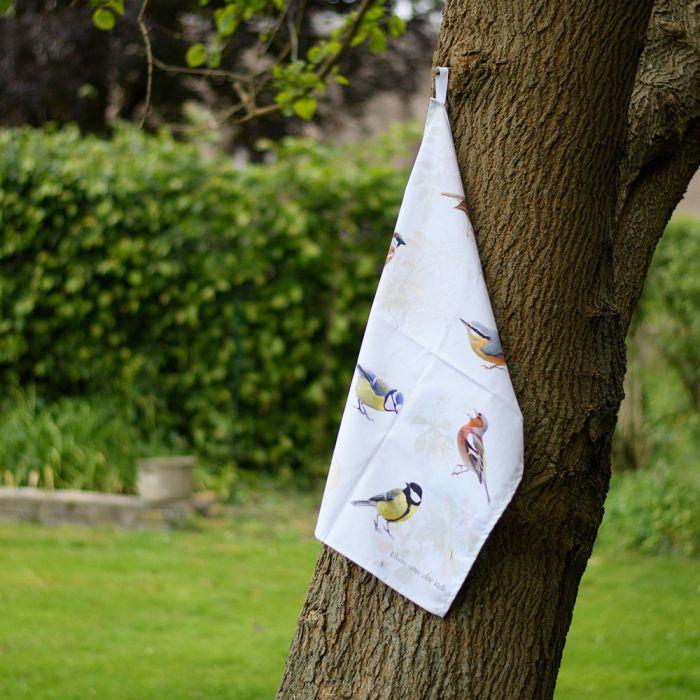 Geschirrhandtuch Gartenvögel – Elwin van der Kolk