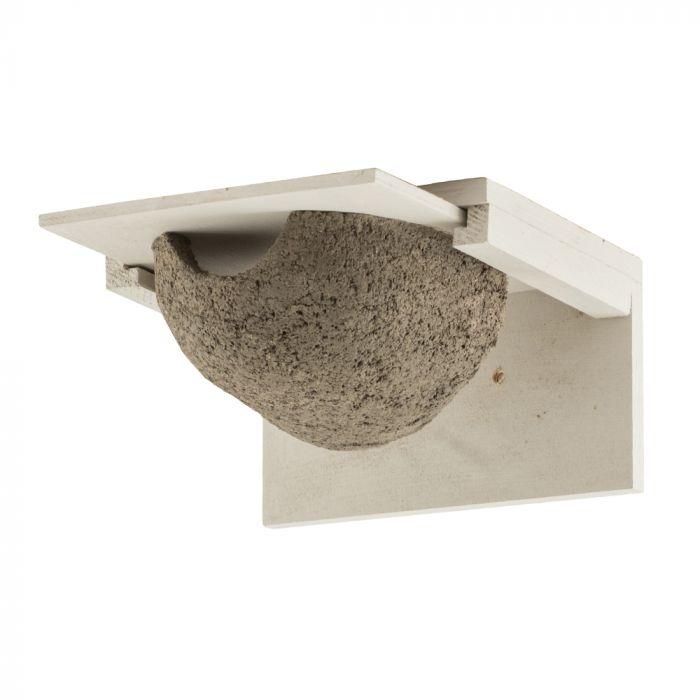 Kunstnistkasten Mehlschwalbe einzeln, abnehmbar