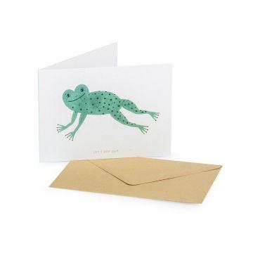 Grußkarte Frosch – Goodness Gang