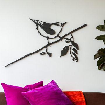 Metalbird XXL Wanddekoration Kleiber