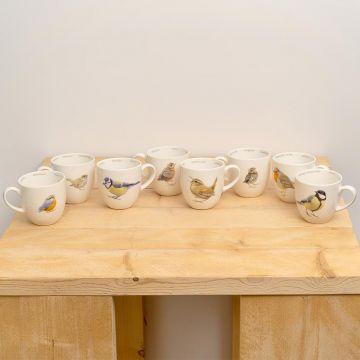 Tassen-Set Gartenvögel (Elwin van der Kolk)