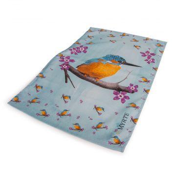 Geschirrtuch Eisvogel (Myrte)