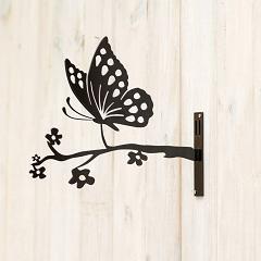 Metallsilhouette – Schmetterling