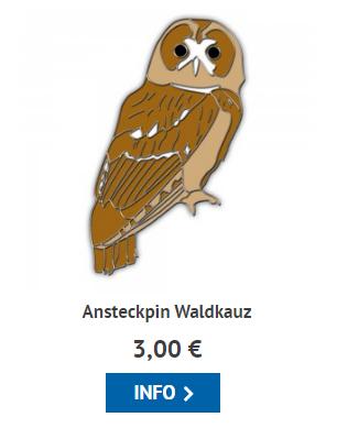 Waldkauz-Pin
